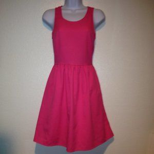 Bee Stitched Pink Open Back Dress